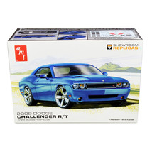 Skill 2 Model Kit 2009 Dodge Challenger R/T 1/25 Scale Model by AMT AMT1... - $44.09