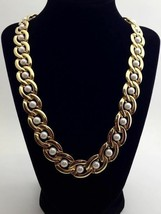 """Goldtone Captured Faux Pearl 21"""" Necklace - $4.74"""