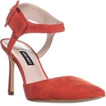 Nine West Elisabeti Heeled Sandals, Red , 8 US - $42.61