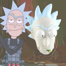 Rick And Morty Mask Helmet Halloween Cosplay Season Natural Platex Morty - $38.08 CAD
