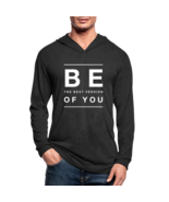 Mens Hoodie, Be The Best Version of You Tri-Blend Sports Shirt - $39.99