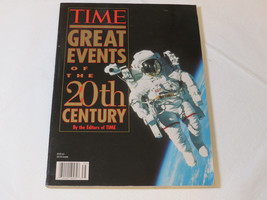 Time Great Events of the 20th Century 1997 Time Books paperback book - $29.69