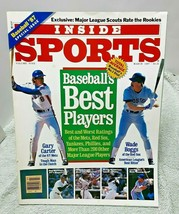 Inside Sports March 1987 Baseballs Best Players  NO Label  - $11.87