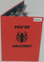 Lovepop LP2186 Spider Man Youre Amazing Red Pop Up Card White Envelope image 2