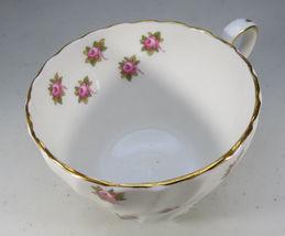 Vintage Aynsley Porcelain Tea Cup Hathaway Bone China Pink Roses England image 7