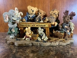 Boyds Bears & Friends Noah And Co Ark Builders SPECIAL EDITION  1996 #22... - $72.63