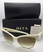 Dita Gafas de Sol Tentación 22029 C CRM GLD 61 Crema y Dorado con / Marrón