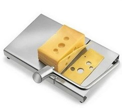 Cheese Butter Slicer Cutter Stainless Steel Wire Grater Kitchen Board Cu... - €21,21 EUR