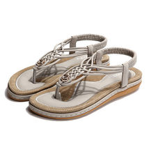 Sandals Outdoor Knitted Casual Size SOCOFY Sole Soft 5 US Women Beach 10 qXZxw0