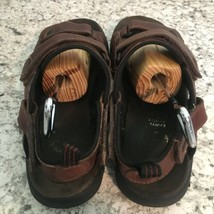 EARTH SPIRIT sun II MENS BROWN FISHERMEN SPORTS Leather Sandals 11 image 2