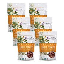 Essential Living Foods Organic Jungle Peanuts, 6 Ounce - $47.45