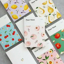 Pour Vous Fruits Diary Journal Undated Planner Scheduler Notebook Organi... - $15.99