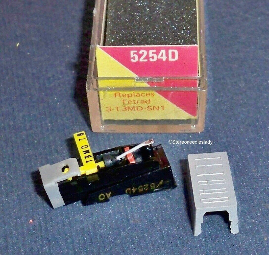 Electro-Voice EV 5254D CARTRIDGE NEEDLE STYLUS Tetrad 3-T3MD-SN1, 3-43D-78-7