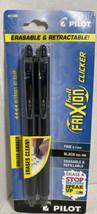 PILOT FriXion Ball Clicker Erasable & Retractable Gel Ink Pens 2 Pack R1 - $9.88