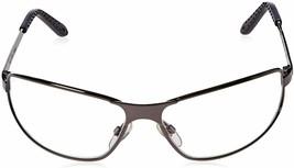 UVEX Tomcat Gunmetal Frame Clear HC Lens Safety Glasses image 2