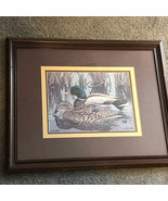 JOHN AKERS ARTIST PROOF signed print New orleans drake mallard ducks pon... - $193.05