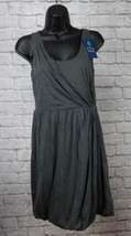 New with Tags Dark Gray J Crew Jetty Casual Sleeveless Dress Size XXS - $19.59