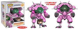 "Overwatch Video Game D.VA w/ Meka Super-Sized POP! 6"" Figure #177 FUNKO ... - $24.14"