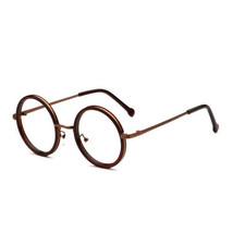 Small Round Clear Lens Eyeglass Frame Unisex Prescription Optical Specta... - $8.64