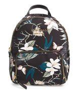 Kate Spade Nylon Backpack watson lane botancical small hartley~NWT $178~ Black - $149.69