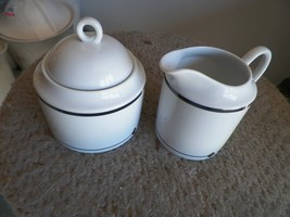 Mikasa Moderne cream and sugar 1 available - $13.66