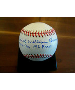 BOBBY BROWN FULL-NAME YANKEES A.L. PRESIDENT SIGNED AUTO BROWN OAL BASEB... - $247.49