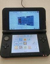 3DS XL Red / Black Console Nintendo Handheld Portable System - $112.17