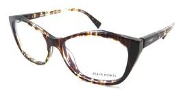 Alain Mikli Rx Eyeglasses Frames A03060 003 54-16-140 Havana Yellow Blue Green - $147.00