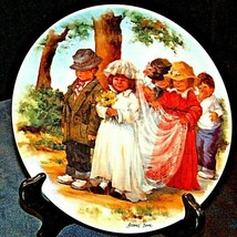 """1985 """"Here Comes the Bride"""" by Jeanne Down Plate with Box (Knowles) AA20... - $69.95"""