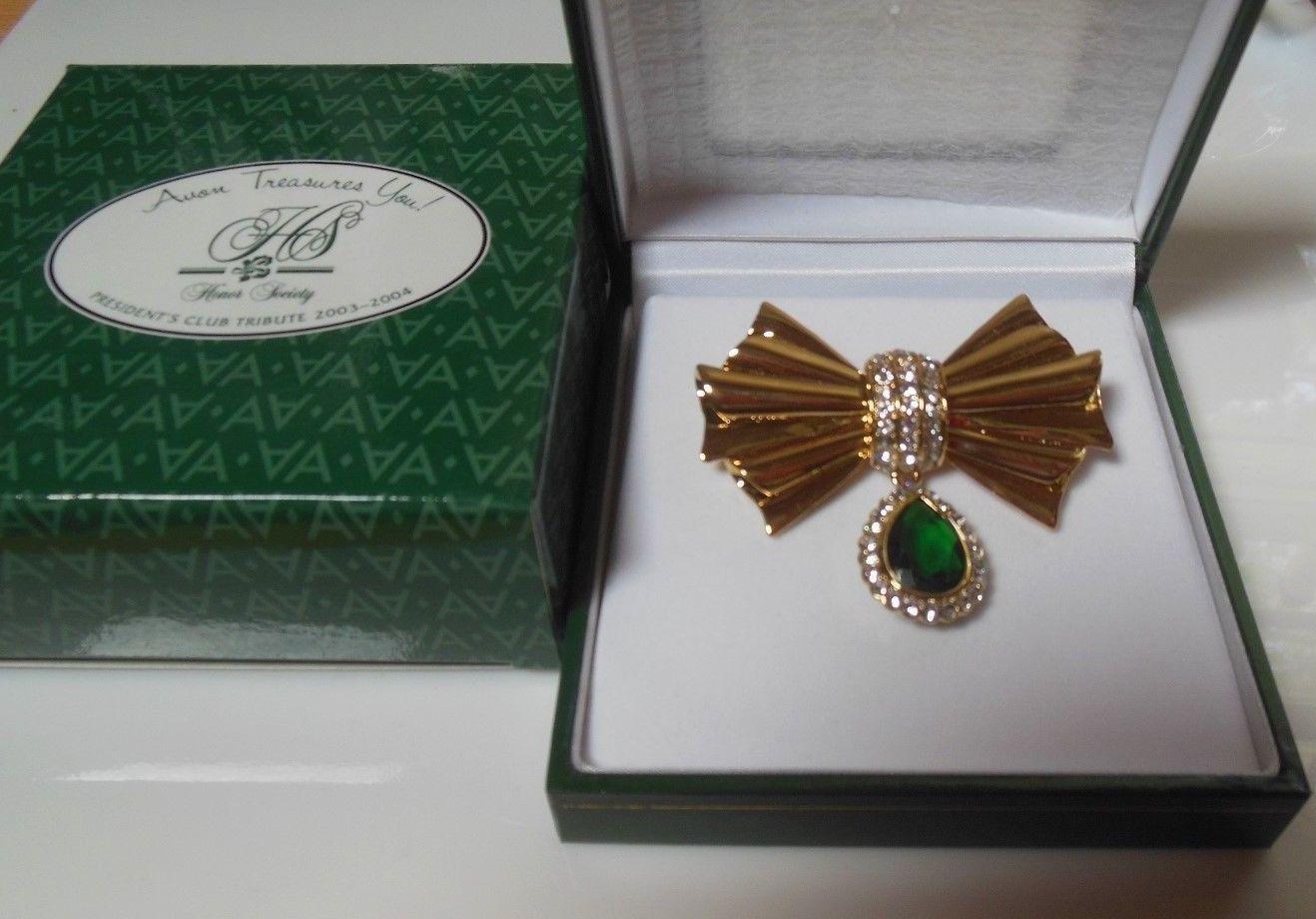 Avon President's Club Tribute Honor Society Brilliant Treasures Pin 2003-2004