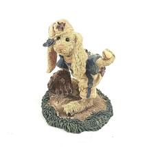 Boyds Bears Figurine, Lefty On The Mound, Rabbit Plays Baseball, 1994 - $14.84