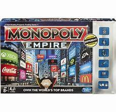 Monopoly Empire Board Game 2014 Parker Brothers real estate silver tokens