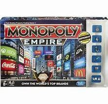 Monopoly Empire Board Game 2014 Parker Brothers real estate silver tokens - $37.77
