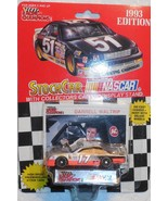 1993 Racing Champions Darrell Waltrip #17 NASCAR 1/64 Scale w/Stand & Card - $5.00
