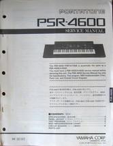 Yamaha PSR-4600 Portatone Keyboard Original Service Manual, Schematics Book - $14.84