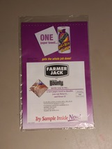 Vintage 90's Farmer Jack and Bounty In-Mail Sample Ad Unopened - $14.99