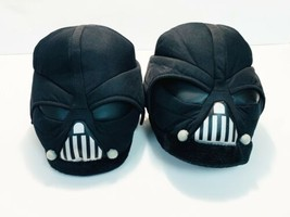 STAR WARS Darth Vader Black Slippers Unisex Youth 14 & Up FREE SHIP! - $23.36