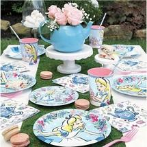 Alice in Wonderland 8 Lunch Plates - $12.86