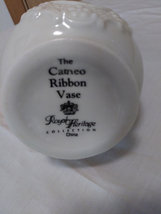 The Cameo Ribbon Vase Royal Heritage Collection made in China image 3
