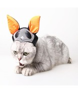 Cute Cat Witch Costume Caps Halloween Pet Hat Magic Hat Pet dog party decor - ₹713.95 INR