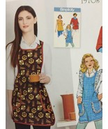 Simplicity Sewing Pattern 8152 Ladies Misses Vintage 1970s Smock Apron S... - $14.44