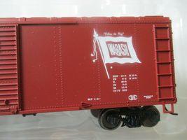 Bowser #42463 Wabash NJI&I Flour Loading 40' Boxcar  HO Scale image 3