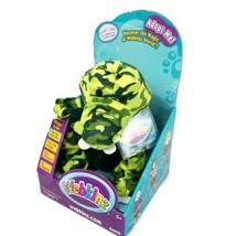 Webkinz Dinosaur Camo Croc Green Ganz Plush New Sealed Unused Code HM709 - $18.69