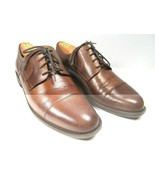 Cole Haan Dustin Style C24042 Mens Brown Leather Cap Toe Oxfords Size US... - $28.42