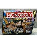 Monopoly Speed, Fast Paced Family Party Board Game - $18.69