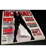 HIGH TIMES MAGAZINE Feb 1994 Medical Marijuana MOBY Contras Nicaragua UK... - $13.99