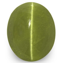 IGI Certified INDIA Chrysoberyl Cat's Eye 9.91 Cts Natural Untreated Oval - $2,725.00