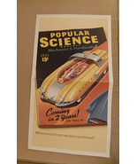 orig Infiniti G-35 Advertising Fold Out Poster Futuristic Cars Popular S... - $13.99