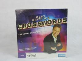 Merv Griffin's Crosswords Social Wordplay Game New Sealed - $7.59