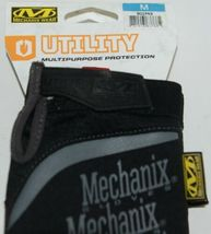 Mechanix Wear 911743 Utility Multipurpose Protection Gloves Black Medium image 4